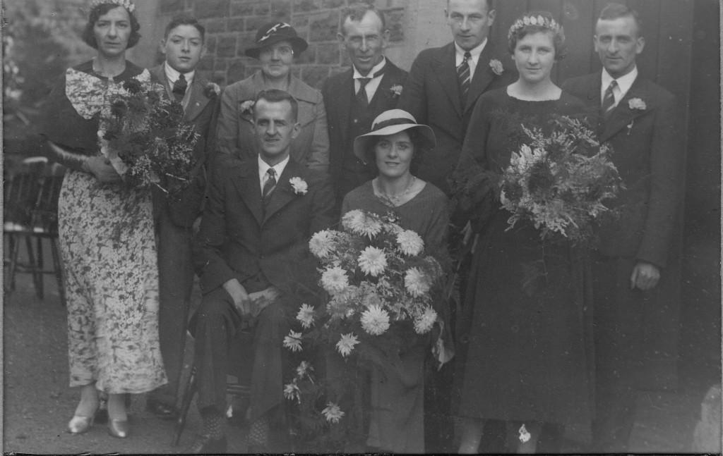 THORNE, Ernest wedding