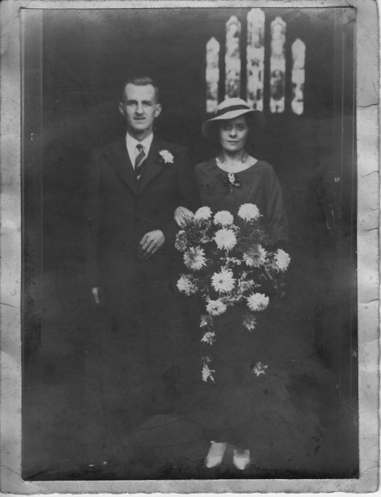 THORNE, Ernest wedding portrait
